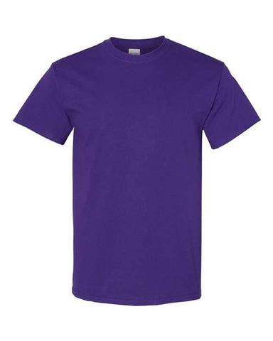 Blank Heavy Cotton Tshirt - Purple