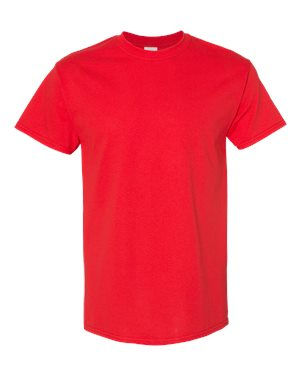 Youth Blank Heavy Cotton Tshirt - Red
