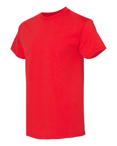 Blank Heavy Cotton Tshirt - Red