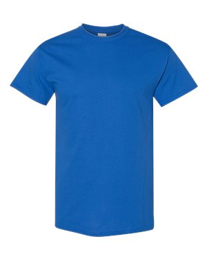 Blank Heavy Cotton Tshirt - Royal Blue