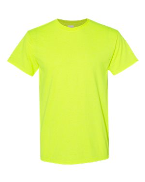 Blank Heavy Cotton Tshirt - Safety Green