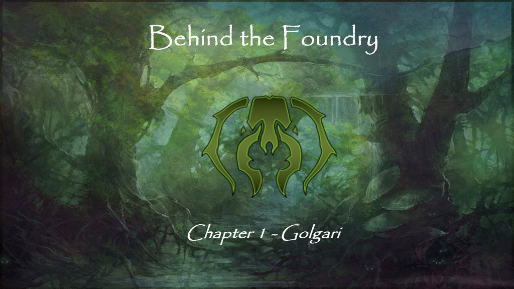 Behind the Foundry Chapter 1 – Golgari inspired Grimoire Concept Art