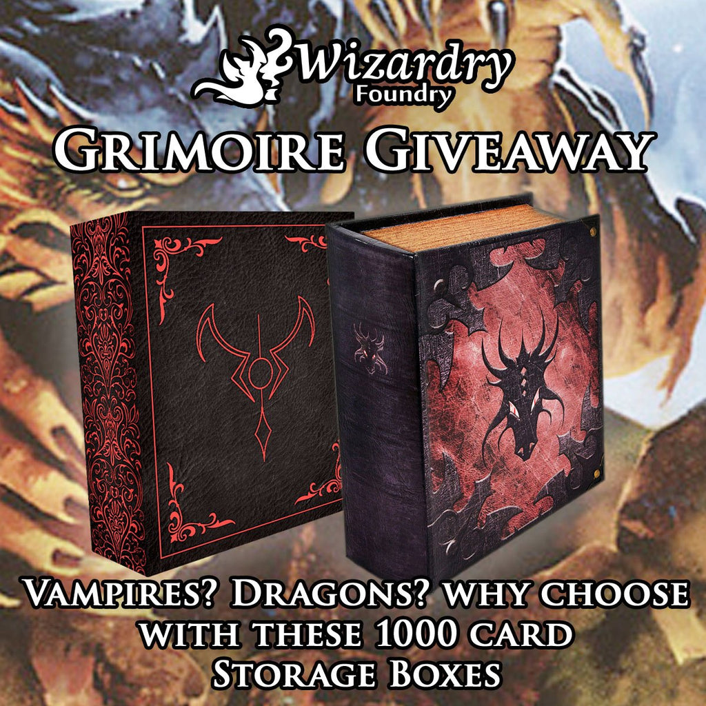 August Grimoire Raffle
