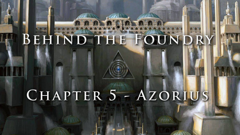 Behind the Foundry: Azorius-Inspired Grimoire Deck Box