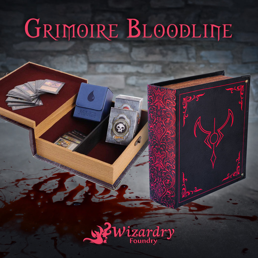Behind the Foundry - Bloodline Grimoire
