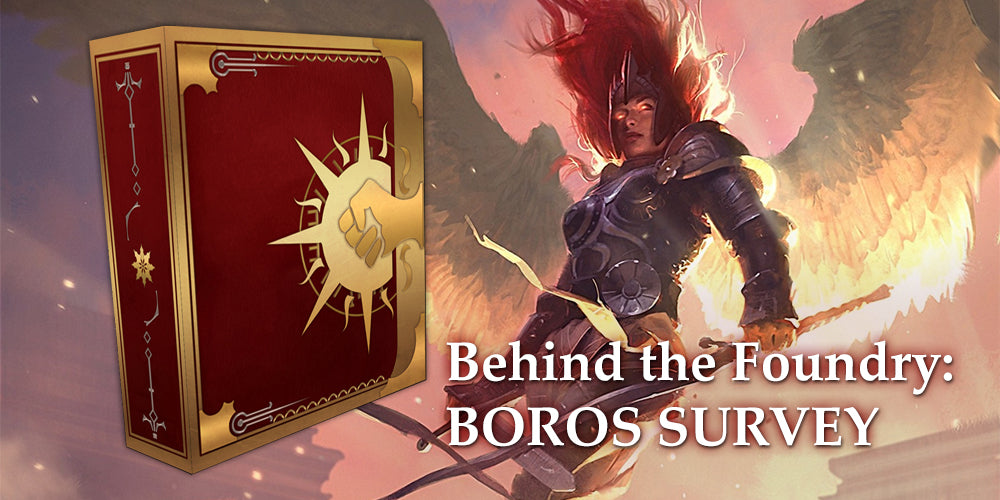 Behind the Foundry - Boros Grimoire Survey