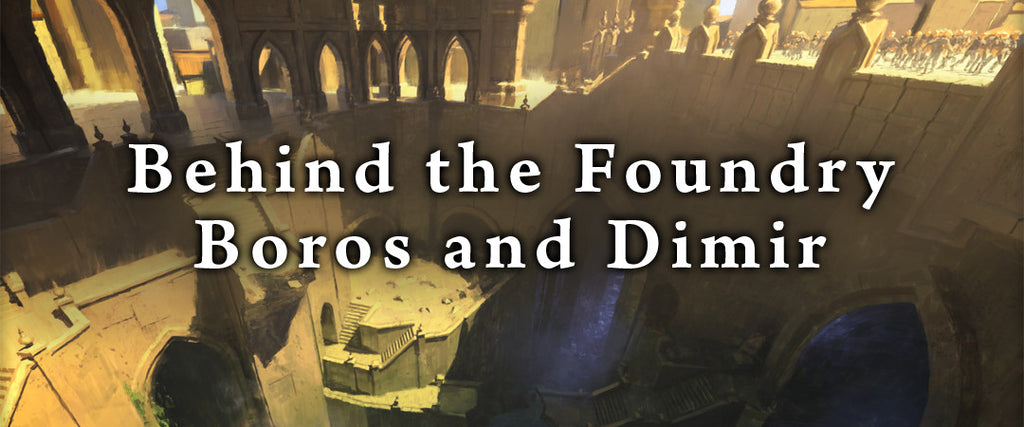 Behind the Foundry - Grimoire Boros and Dimir