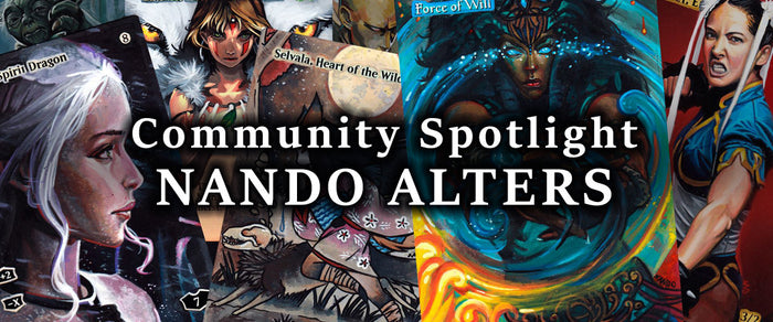 Community Spotlight - Nando Alters
