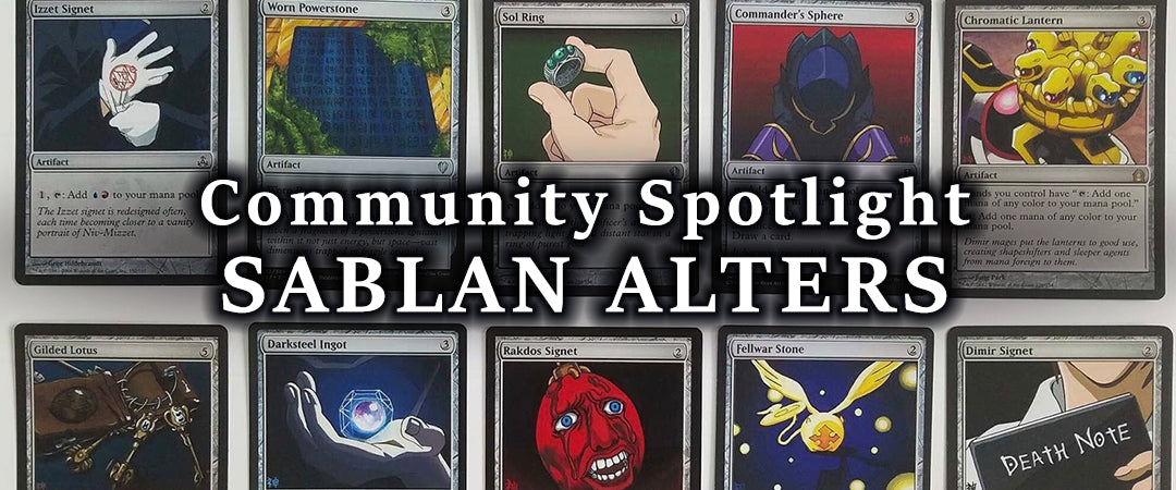 Community Spotlight - Sablan Alters