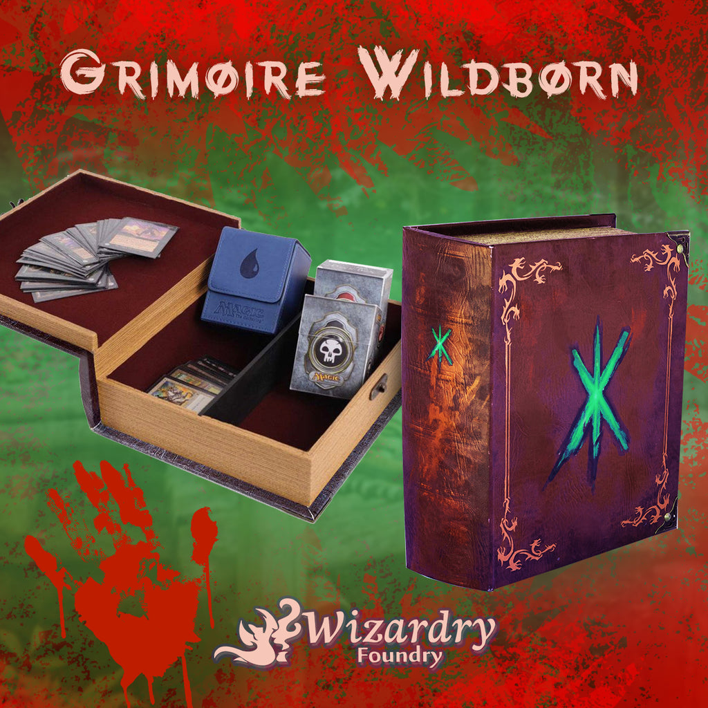 Behind the Foundry - Wildborn Grimoire