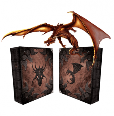Grimoire Deck Box, Dragonlord Sneak Peek