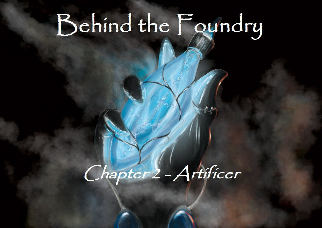 Behind the Foundry Chapter 2 – Artificer inspired Grimoire Concept Art