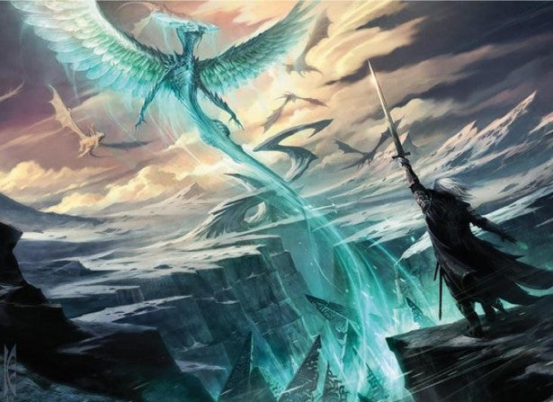 The History of Ugin, the First Spirit Dragon Planeswalker