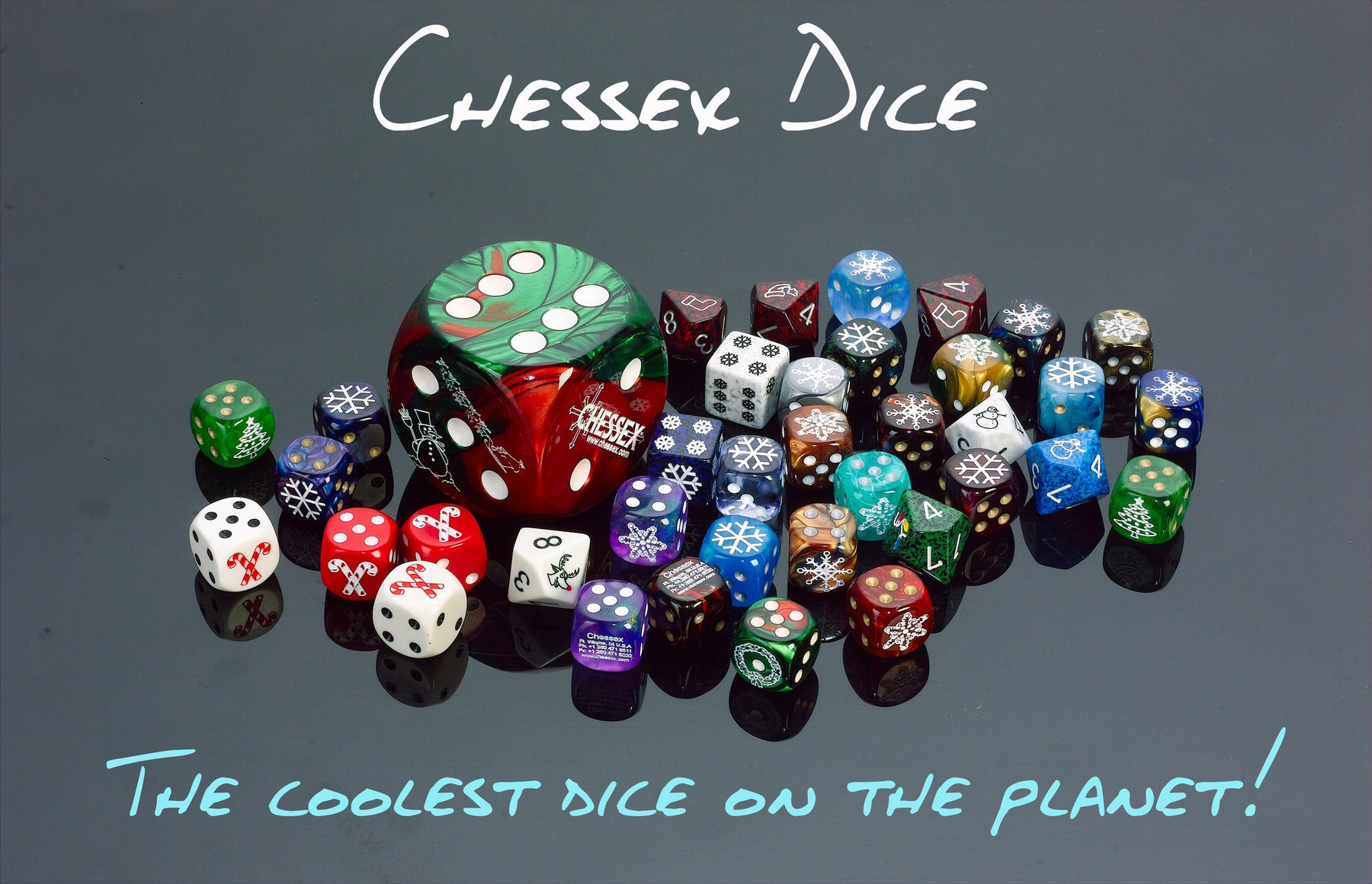 Chessex Dice: The coolest dice on the planet!