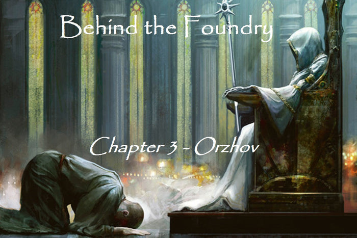 Behind the foundry – Chapter 3 Orzhov concept art