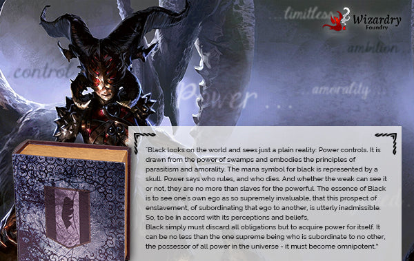 Black Magic the Gathering Lore