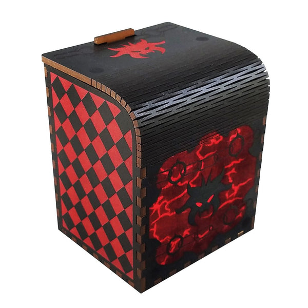Hellbent Codex Deck Box for MtG & DnD | Wizardry Foundry