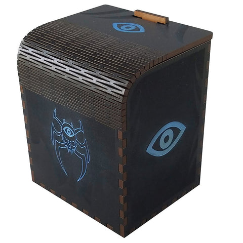 Codex Cipher - Precision Laser Cut Wooden Deck Box