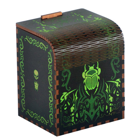 Codex Deathrite - Precision Laser Cut Wooden Deck Box
