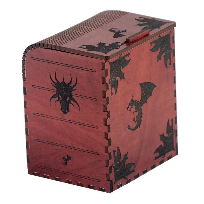 Dragonlord Codex Deck Box for MtG & DnD | Wizardry Foundry