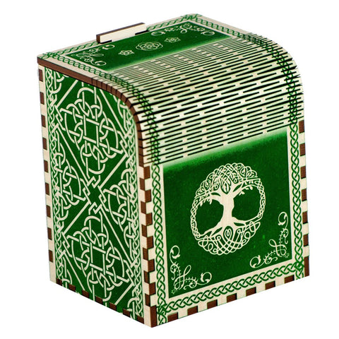 Codex Primeval - Precision Laser Cut Wooden Deck Box