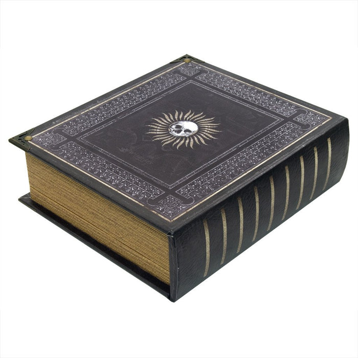 Grimoire Deck Box, Immortal for MtG & DnD | Wizardry Foundry