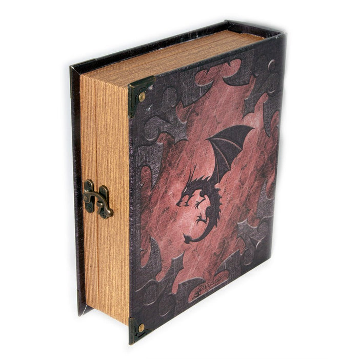 Grimoire Deck Box, Dragonlord Pre-Order for MtG & DnD | Wizardry Foundry