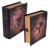 Dragonlord Grimoire Deck Box for MtG & DnD | Wizardry Foundry