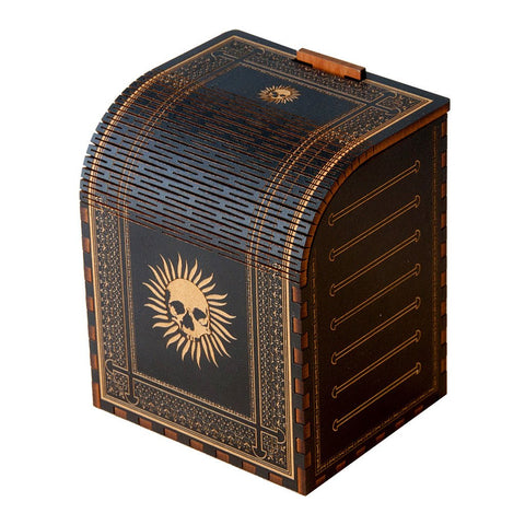 Codex Immortal - Precision Laser Cut Wooden Deck Box