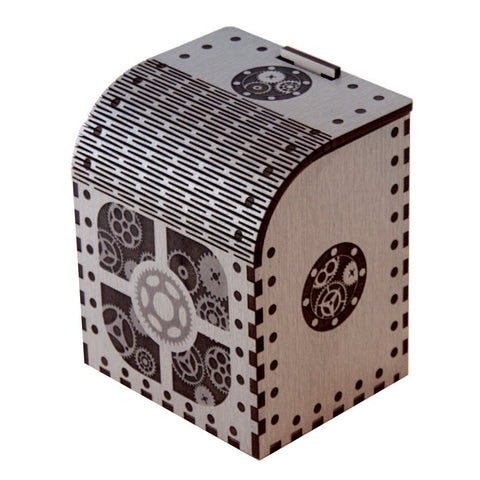 Codex Artificer - (Precision Laser Cut Wooden Deck Box)