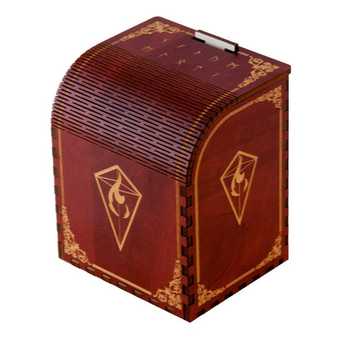 Codex Fury - Precision Laser Cut Wooden Deck Box