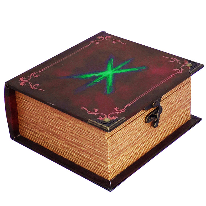Grimoire Pro Tour Deck Box, Wildborn - Store 350+ Standard Size Cards