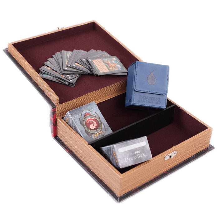 Grimoire Deck Box, Righteous for MtG & DnD | Wizardry Foundry