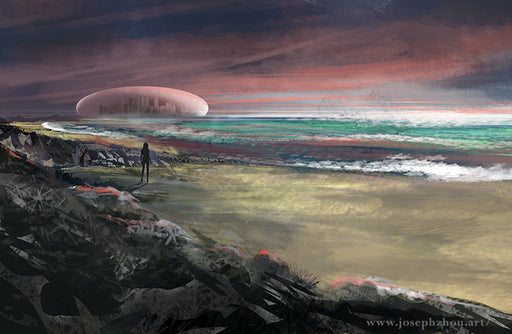 "Discovery by Joseph Zhou, 11×17"" Glossy Card Stock Poster Art Print"