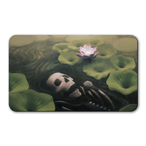 Lotus Eater by Joseph Zhou, Trading Card Computer Game Play Mat