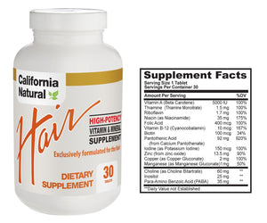 Hair Vitamins-30 tablets