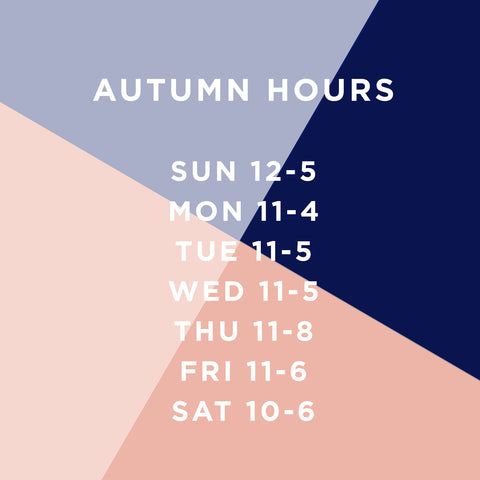 AUTUMN HOURS