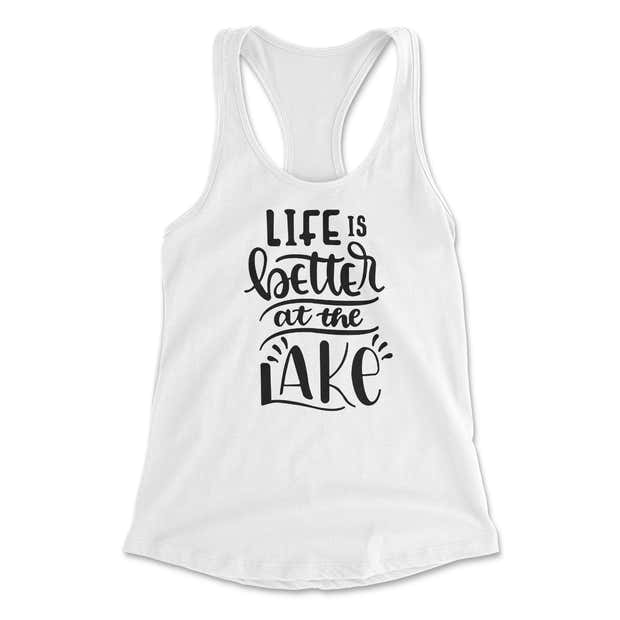 Life is Better at the Lake Tank 1
