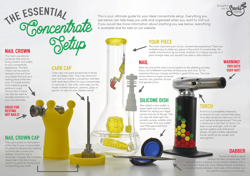 The Essential Concentrate Setup Infographic