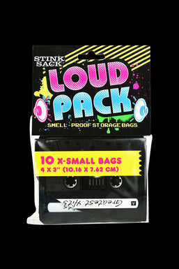 Stink Sack Loud Pack Smell-Proof Storage Bags - 10 Pack
