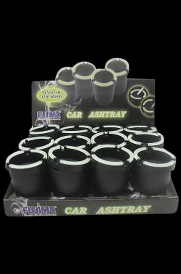Self-Extinguishing Glow Ashtray - 12 Pack