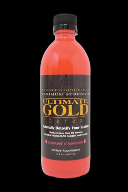 Ultimate Gold Detox 16oz Drink