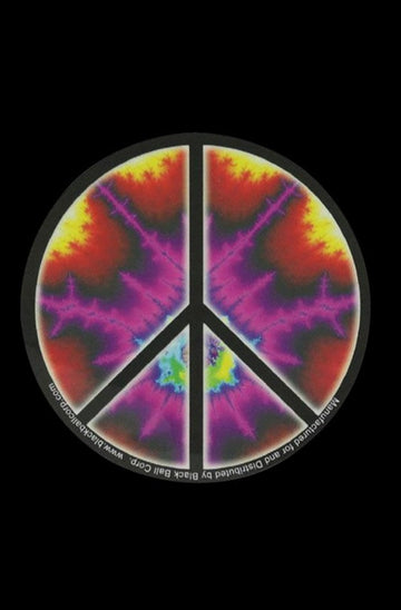 Peace Sign Explosion Sticker