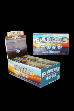 """Elements Ultra Thin 1 1/4"""" Rice Rolling Papers - 20 Pack"""
