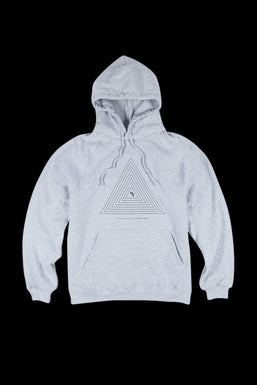 """Higher Standards """"Concentric Triangle"""" Hoodie"""