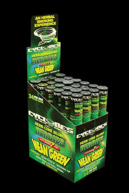 Cyclones Mean Green Pre-Rolled Cones - 24 Pack