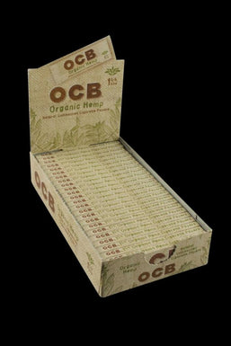 "OCB Organic Hemp 1 1/4"" Rolling Papers - 24 Pack"