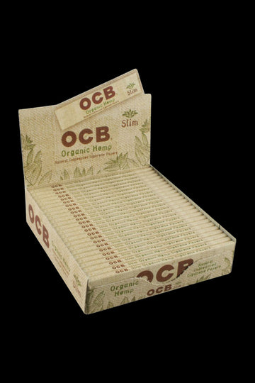 OCB Organic Hemp Slim Rolling Papers - 24 Pack