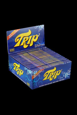 Trip2 Kingsize Clear Rolling Papers - 24 Pack