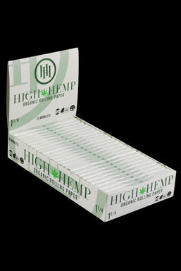 High Hemp Organic Rolling Papers - 25 Pack
